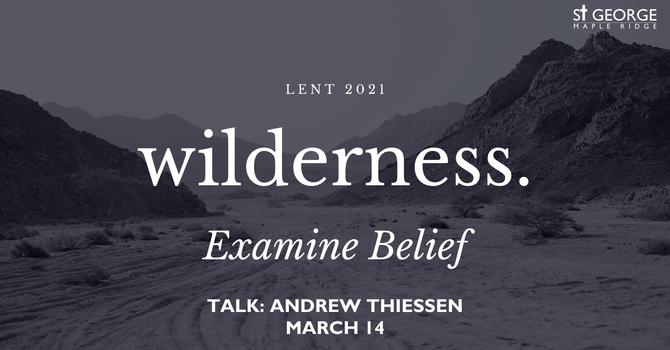 Talk - Wilderness. Examine Belief image