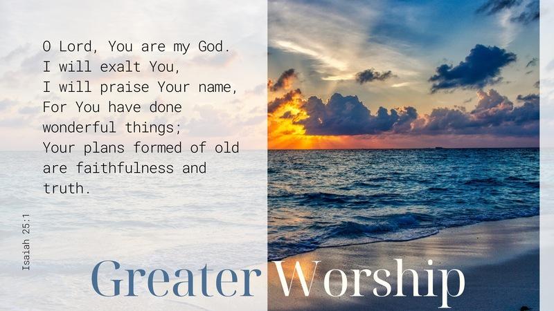 Greater Worship