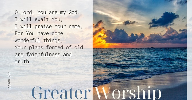 Greater Worship