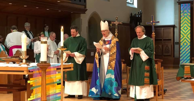 Linda Nicholls installed as Primate of the Anglican Church of Canada