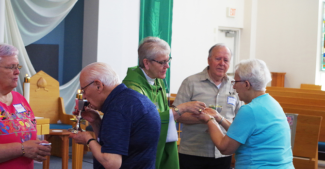 Diocesan Annual Retirees BBQ image