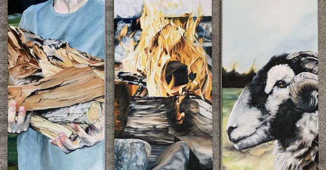 Wood, Fire, Lamb image
