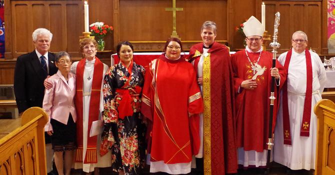 The ordination of Rev. Hana Scorrar, December 5, 2019