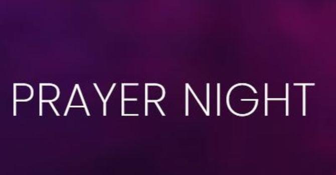 Corporate Prayer Night