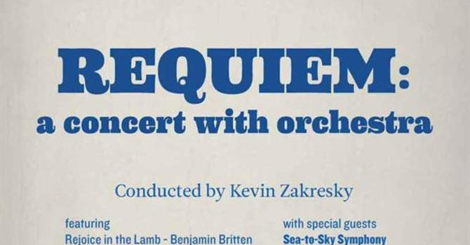 Requiem - a  choral concert with orchestra, February 4th image