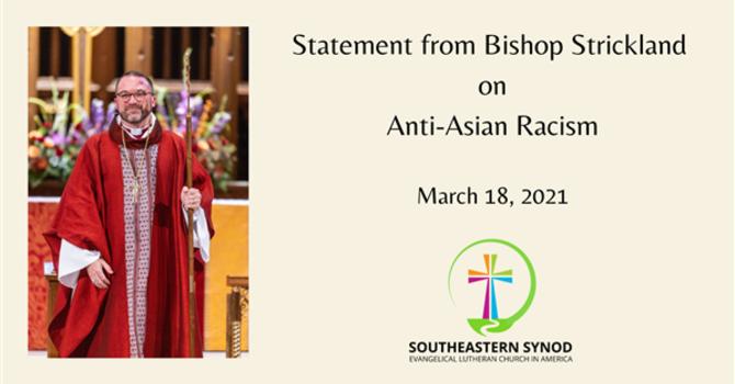 Statement Denouncing Racist Violence image