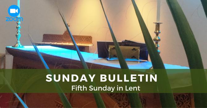 Sunday Service -  March 21, 2021 image