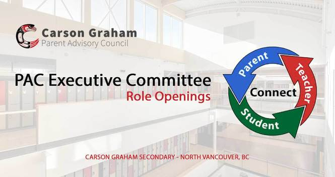PAC Executive Committee Role Openings