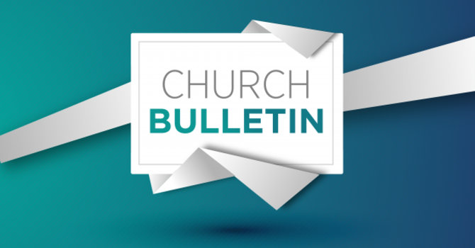 3-21-2021 Bulletin for Sunday Service image