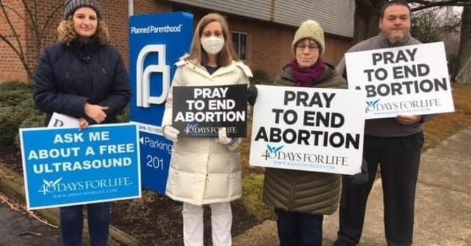 SMRBC Fills Prayer Vigil Day for 40 Days for Life image