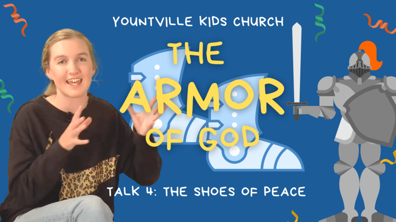 4. Shoes of Peace