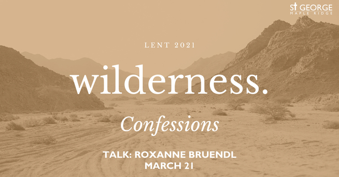 """Talk """"Wilderness - Confessions"""" image"""