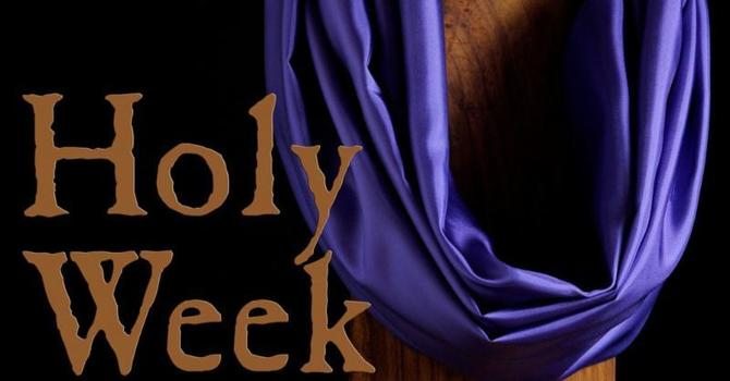 Holy Week 2021 at a Glance image