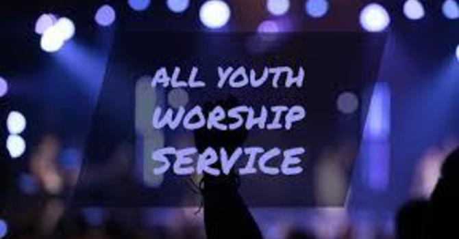 Youth led worship service