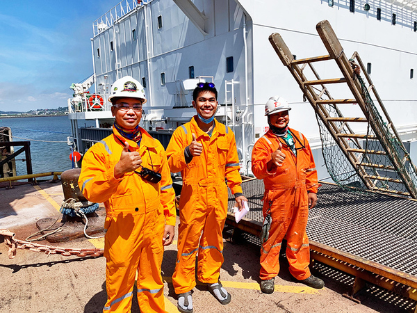 'With a little bit of effort, I can move mountains for these seafarers'