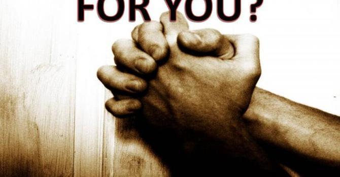 Prayer Ministry / Ministerio de Oracion
