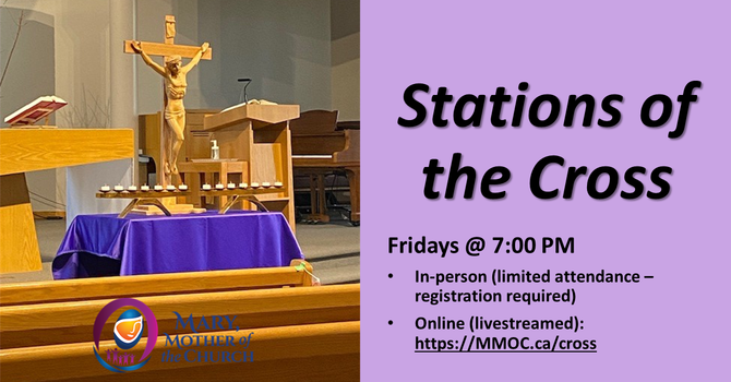 Stations of the Cross every Fridays at 7 PM image