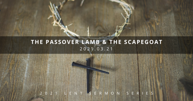 3 Understanding Jesus: The Passover Lamb & the Scapegoat