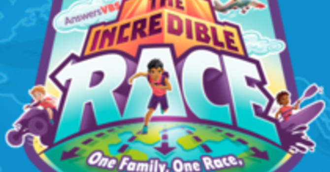VBS Camp - The Incredible Race! (August 3-6)