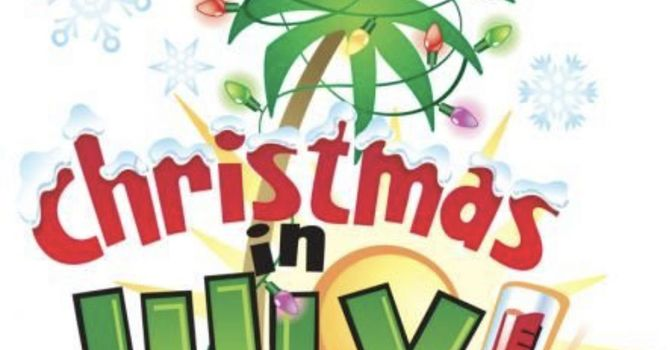 VBS Camp - Christmas in July (July 19-23)