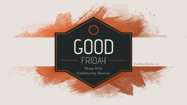 Community Good Friday Service
