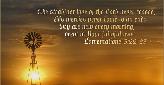 The LORD is Merciful!