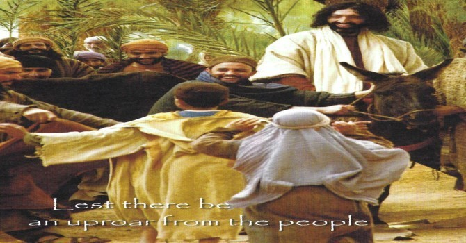 Worship Service Bulletin - Palm Sunday  image