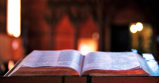 Holy Week Bible Proclamation image
