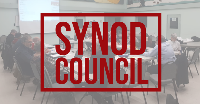 Your Synod Council at work image
