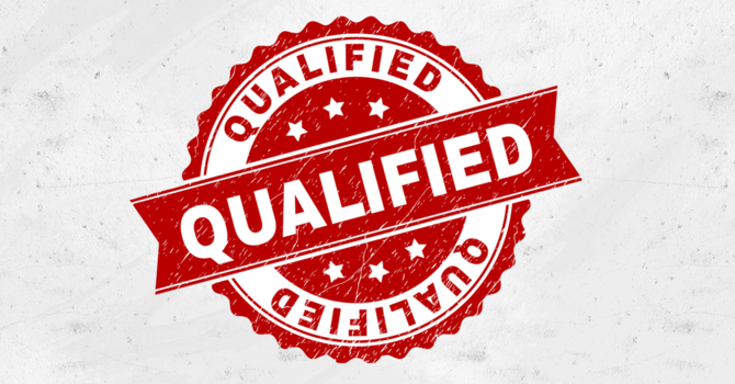 Are You Qualified? image