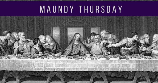 Maundy Thursday Foot Washing Liturgy image