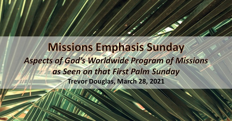 Missions Emphasis Sunday