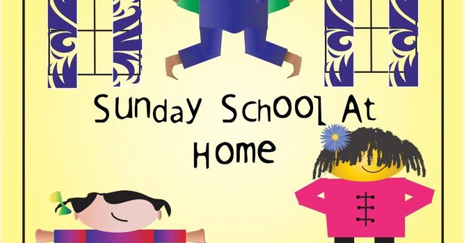 At Home Sunday School Kits for April 2021 image