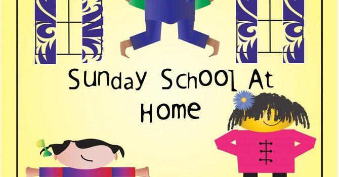 At Home Sunday School Kits for May 2021 image
