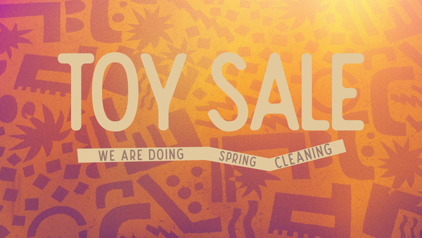 Toy Sale Opportunity