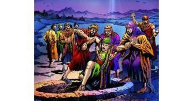 Joseph is Sold Down to Egypt image