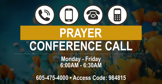 Weekday Morning Prayer Call