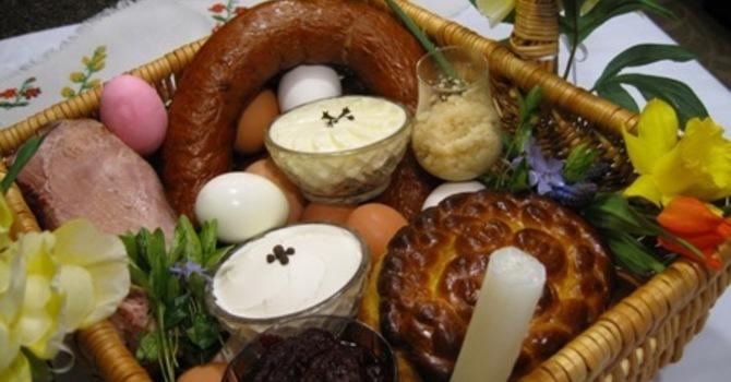 Traditional Easter Basket image