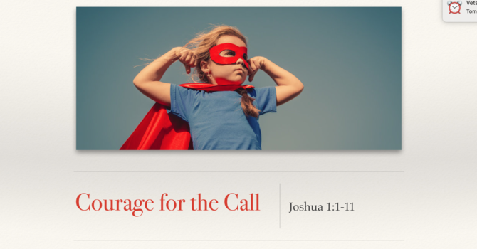 PM Service/ Courage for the Call