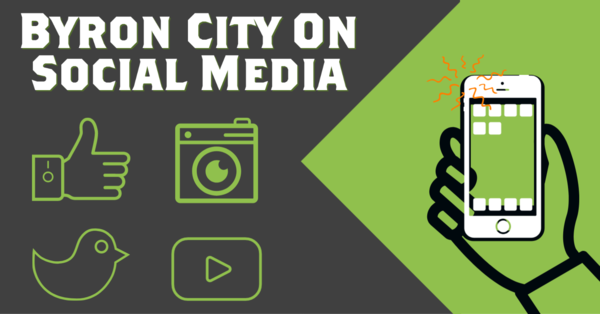 Connect with Byron City on Social Media