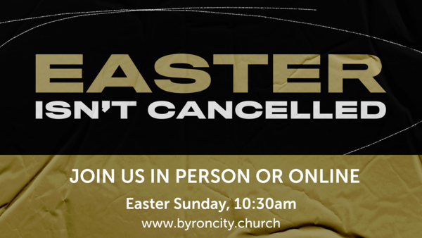 Easter isn't Canceled!