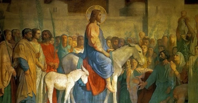 Palm Sunday - 28 March 2021