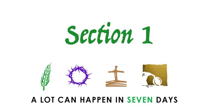 Holy Week Scripture Encounter image