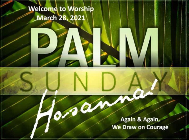 March 28, 2021 Sunday Worship