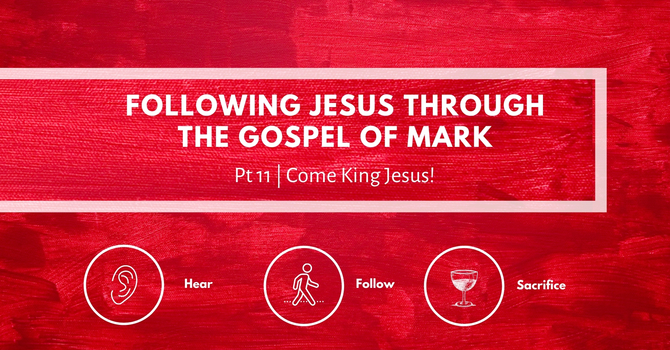 Come King Jesus!