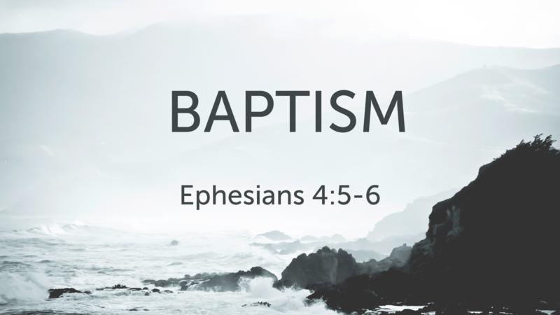 CVBC 3.28.21 {Baptism}