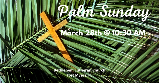 Palm Sunday, March 28, 2021 | Full Service