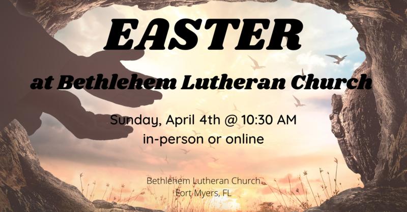 Easter Sunday, April 4, 2021 | Full Service