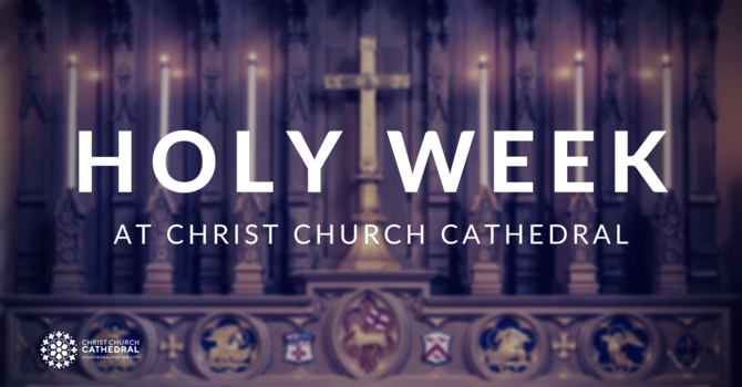 Cathedral to continue worshipping online during Holy Week image