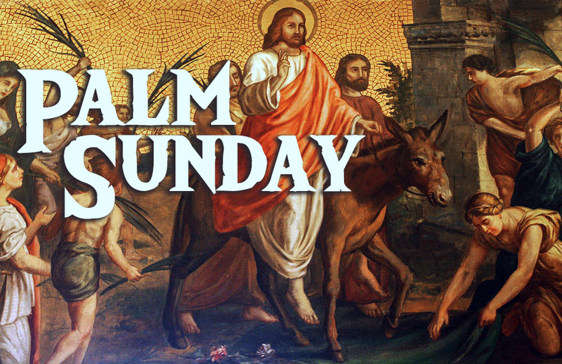 Palm Sunday - what does it mean to follow Jesus?